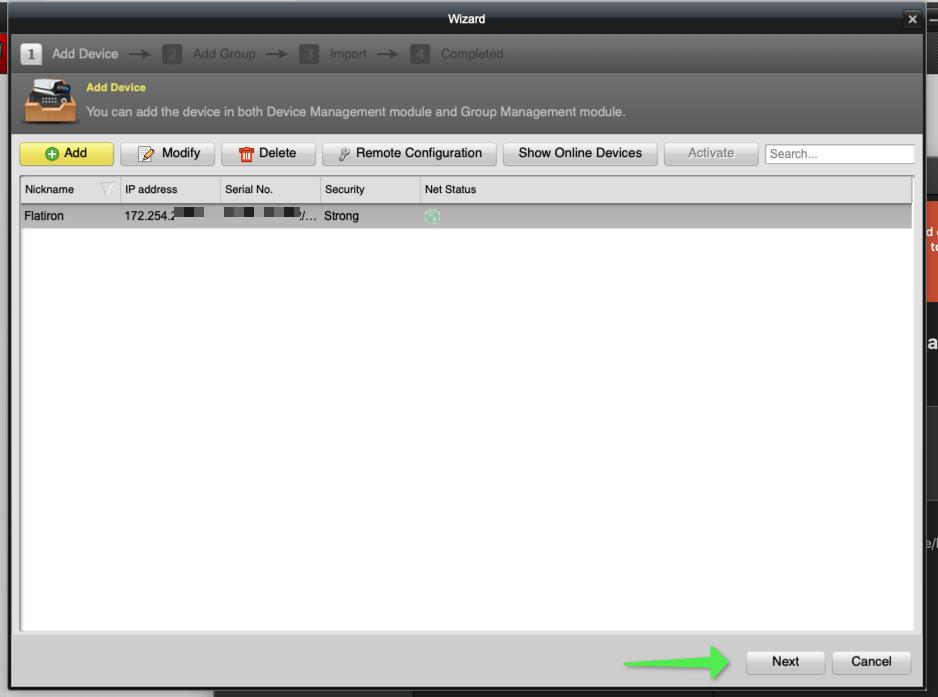 Hikvision plugin pc